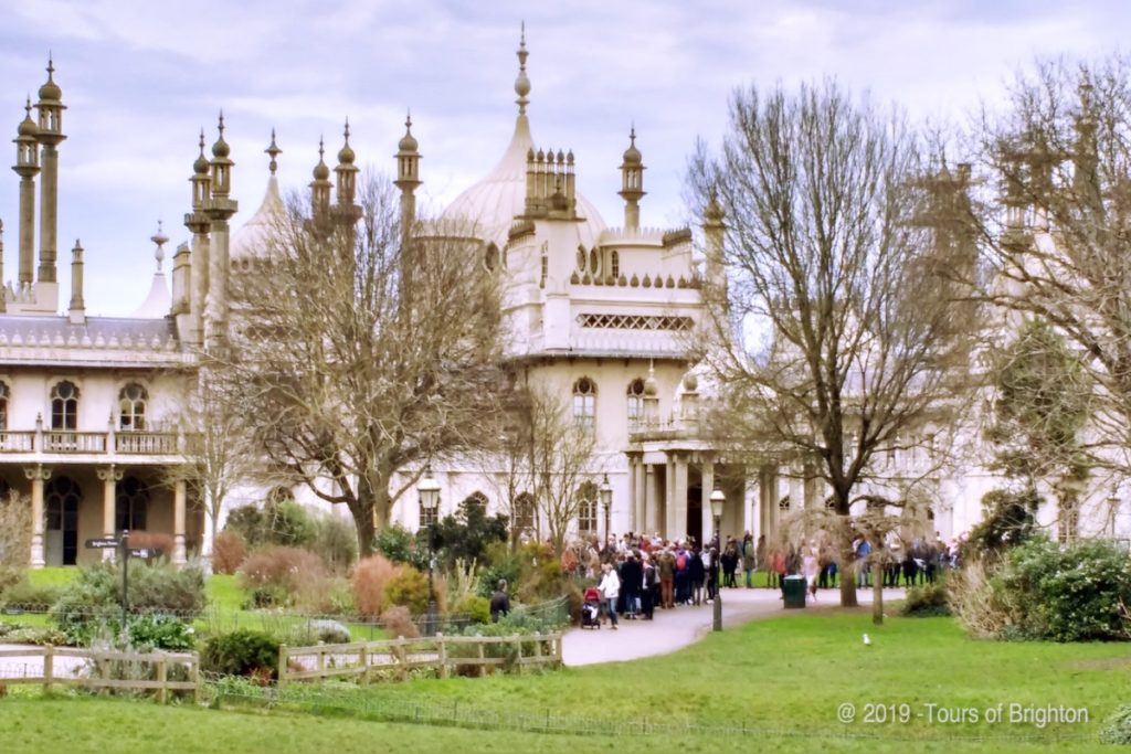Brighton Royal Pavilion Gardens