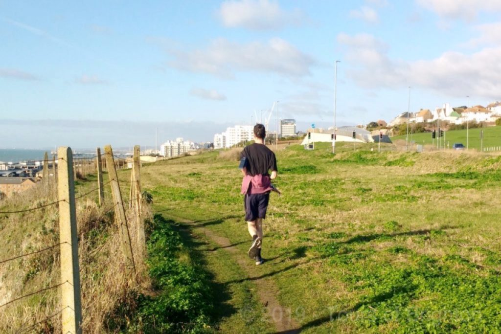 On top the hill with Brighton Running Tours