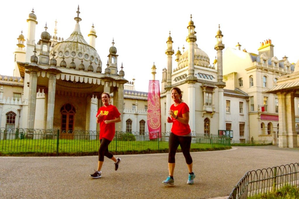 Come run with Tours of Brighton and see some of Brighton's iconic buildings such as the Pavilion.