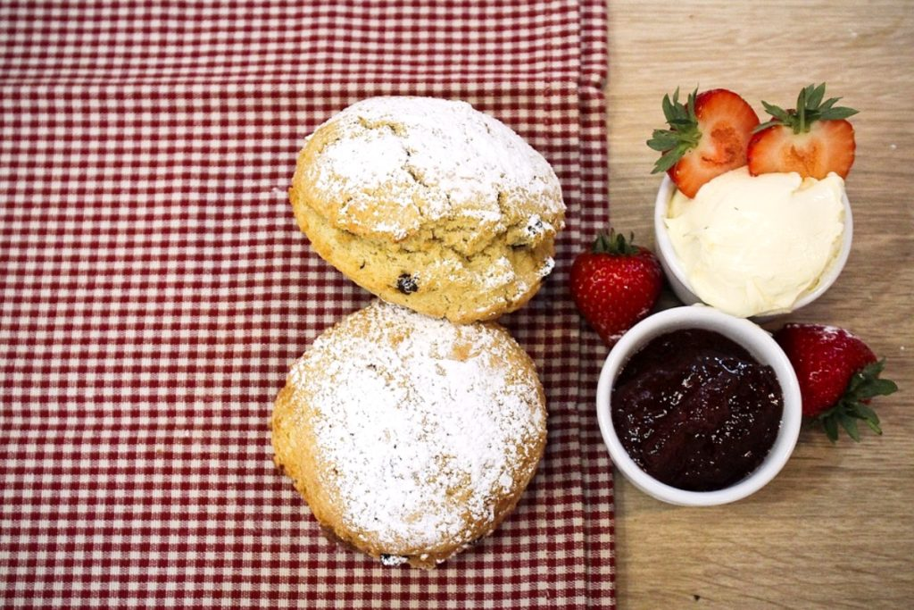 Scones are part of the Afternoon Tea Tradition