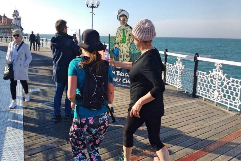 Rancing Brighton at the Pier