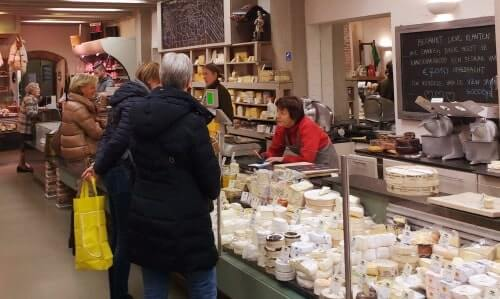 Cheese can be one of the tasters on your Mechelen food tour