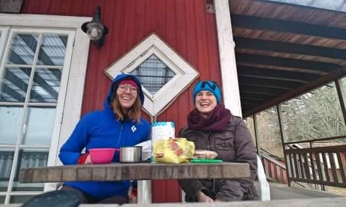 A day trip from Stockholm with a winter picnic in Vaxholm