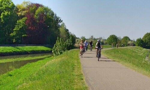 Cycling along Mechelen's green spots on our cycle tour